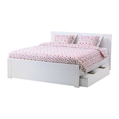 Brusali Double Bed with Storage 2