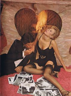 Photos by Chris Von Wangenheim at Jayne Mansfield's Hollywood home for Oui, January 1974