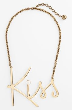 Kiss | Lanvin statement necklace