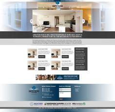 Website design for Spiteri Homes.