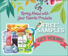 FREE Spring Samples | Closet of Free Samples | Get FREE Samples by Mail | Free Stuff