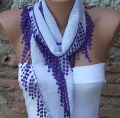 Lilac,Scarves