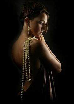 I always wear my pearls ღ Boudoir Photos, Boudoir Photography, Portrait Photography, Fashion Photography, Indian Photoshoot, Pearl And Lace, Beauty Shoot, Thing 1, Sensual