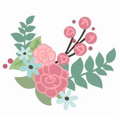 Embroidery Flower Patterns This whimsical floral flourish is perfect for all kinds of creations. Mother's Day, Weddings, gardens and more. Embroidery Flowers Pattern, Flower Patterns, Embroidery Designs, Kids Room Murals, Flower Collage, Flower Doodles, Floral Illustrations, Printable Stickers, Silhouette Design