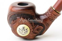 Pipas de madera, Tobacciana, talla de madera, tuberías, accesorios de fumar, la pipa de la mano, mejor pipas