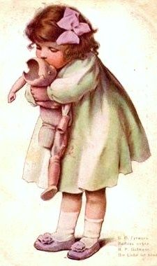 Don't worry, I still love you... #dollshopsunited #antique #doll