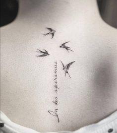 Las 42 Mejores Imágenes De Tatuajes De Golondrinas En 2017 Swallow