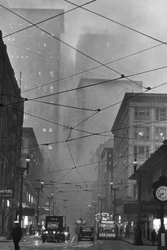 Photos Of Pittsburgh's Air Pollution: 1940s Vs. Today