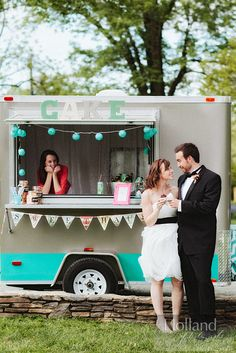 wedding sweets trailer | Cupcake Trailer | sweethaus