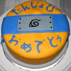 Naruto Birthday Cake by ~QuantumDharma on deviantART