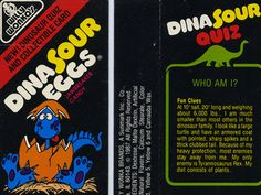 Dinosaur Eggs | 80's Food