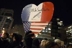 """Je Suis Charlie"": Vigils Held Around The World For Charlie Hebdo Victims"