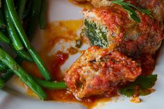 veal rolls braciole di stuffed veal prosciutto stuffed forever spinach ...