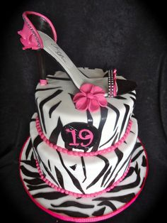 High Heel Shoe Cake Www.sweetcakefetish.com