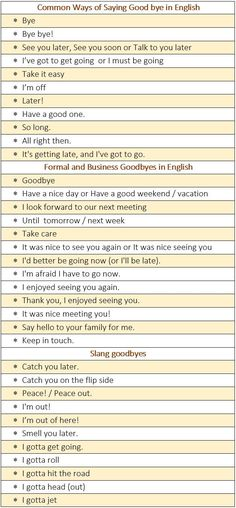 Don't Be a Word Bore: Alternative Ways to Say Goodbye