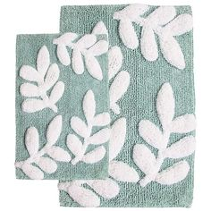 Perfect for bringing a decadent touch to your master bath tiles or dressing your powder room in chic style, this bath mat set offers a dash of luxe design to...