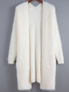 SheIn offers Beige Long Sleeve Shaggy Loose Cardigan & more to fit your fashionable needs. Source by Cute Lazy Outfits, Trendy Outfits, Teen Fashion Outfits, Hijab Fashion, Long Cardigan, Knit Cardigan, Cocoon Cardigan, Beige Cardigan, Jugend Mode Outfits