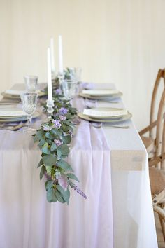 Lilac Wedding Themes, Lavender Wedding Centerpieces, Lavender Wedding Theme, Lavender Decor, Sage Wedding, Diy Wedding, Wedding Ideas, Lilac Wedding Flowers, Lavender Weddings
