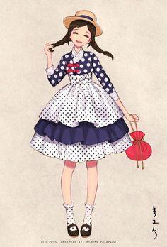 한복 HANBOK, Korean traditional clothes #hanbok | Digital drawing, 2015 South Korea Homepage : Woohnayoung.com Contact : woohnayoung@gmail.com Facebook : www.facebook.com/woohnayoung Twitter : twitter.com/00obsidian00 Tumblr :woohnayoung.tumblr.com/ Pixiv : pixiv.me/obsidian24 Deviantart: theobsidian.deviantart.com/