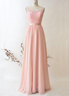 Bridesmaid Dress Chiffon Long Prom Dress, Top Lace Bridesmaid Dresses, Prom Dresses, Formal Dresses, Wedding Dresses, Chiffon Skirt, Lace Tops, Evening Dresses, Fashion Outfits, Women