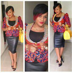 print jacket ~African fashion, Ankara, kitenge, African women dresses, African prints, African men's fashion, Nigerian style, Ghanaian fashion ~DKK