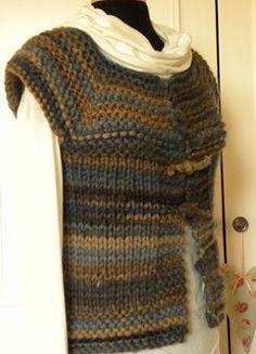 Aran Knitting Patterns, Crochet Cardigan Pattern, Free Knitting, Knit Shrug, Knit Vest, Shrug Sweater, Pull Crochet, Knit Crochet, Summer Sweaters