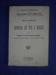 Livros&BD4sale: 4 Sale -  Regulamento Serviços de Via e Obras - Ca...