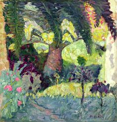 View Palmier rose au Cannet by Pierre Bonnard on artnet. Browse upcoming and past auction lots by Pierre Bonnard. Pierre Bonnard, Paul Gauguin, Garden Painting, Painting & Drawing, Painting Lessons, Abstract Landscape, Landscape Paintings, Abstract Oil, Abstract Paintings