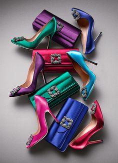 Bright Spot | Manolo Blahnik My all time favorite dressy heels