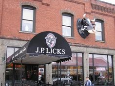 J.P. Licks in the Boston area (Jamaica Plain) on the A-List