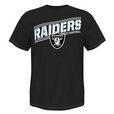 Oakland Raiders 2011 Big Logo Men Slipper Tpr Sole Medium