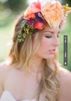 Cool! - bohemian floral crown  Photography by , Floral Design by   CHECK OUT MORE IDEAS AT WEDDINGPINS.NET   #weddings #rustic #rusticwedding #rusticweddings #weddingplanning #coolideas #events #forweddings #vintage #romance #beauty #planners #weddingdecor #vintagewedding #eventplanners #weddingornaments #weddingcake #brides #grooms #weddinginvitations