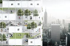 Gallery of Speculative Project Seeks to Take Advantage of NYC Air Rights for Affordable Housing - 3