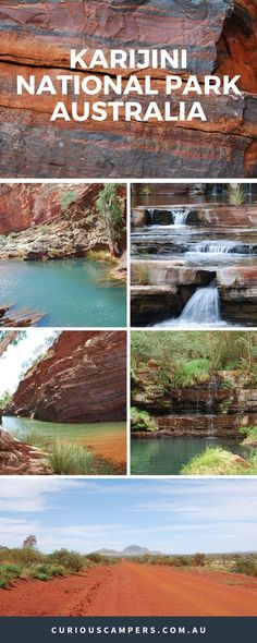 Karijini National Park in Western Australia was a 'must see' destination on our itinerary. Located in the Pilbara, it is home to a series of spectacular gorges, rock pools and watery canyons Australia Travel Guide, Visit Australia, Western Australia, Australia Honeymoon, Queensland Australia, Perth, Brisbane, Sydney, Scuba Diving Australia