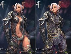 "Warrior Class - Tera Online | 10 Absurdly Skimpy Outfits Saved By ""Repair Her Armor"""