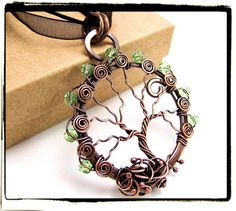 Just relisted! Antique Copper Faerie Green Crystal Wire by FashionWire, $39.99
