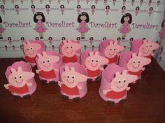 Dareliart: Lembrancinhas da Peppa Pig em Eva - Encomenda da H...