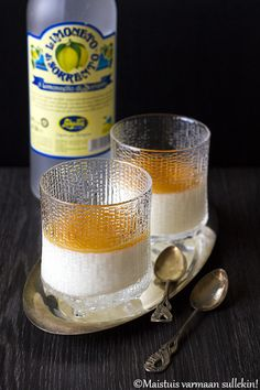 Limoncello, Candle Jars, Candles, Just Eat It, Dessert Recipes, Desserts, Sweet Recipes, Panna Cotta, Food And Drink