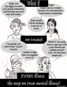This shows the way people in our society talk about mental illnesses. I thought this would be a good thing to relate to the Doctor scene, as he is not very sympathetic to our main character.