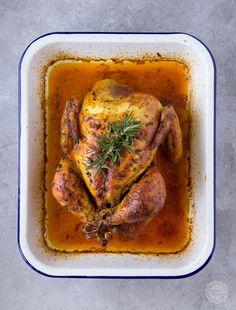 Kurczak pieczony | Wyzwania Kuchenne Poultry, Turkey, Meat, Chicken, Food, Instagram, Products, Backyard Chickens, Turkey Country