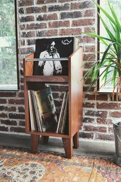 the tritina unit in poplar. designed and made by jason and brit prather. vinyl … the tritina unit in poplar. designed and made by jason and brit prather. Lp Storage, Vinyl Record Cabinet, Audio Room, Vinyl, Vinyl Record Storage, Gothic Furniture, Storage, Pallet Tv Stands, Vinyl Records