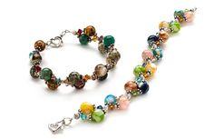 Weave a two-strand bracelet - Jewelry Store