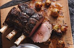 Paleo Diet - Paleo Recipes and Treats - Standing Rib Roast — Punchfork - I made this and it is really simple but flavorful #paleo