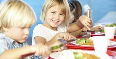 Have you seen the food in your kid's school cafeteria? Here's some tips to keep them in line in the lunch line School Lunchroom, Healthy School Lunches, Lunch Room, Kids Health, Kids Nutrition, Food Allergies, Healthy Recipes, Healthy Foods, Happy Healthy