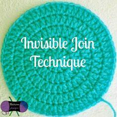Blackstone Designs: Crochet Invisible Join Technique - Knitting a love Easy Crochet Hat, Tunisian Crochet, Learn To Crochet, Crochet Baby, Free Crochet, Simple Crochet, Crochet Stitches Patterns, Crochet Patterns For Beginners, Crochet Chart