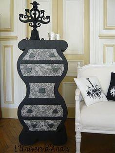 épinglé par ❃❀CM❁✿Cardboard furniture...this stuff completely intrigues and boggles me!
