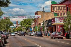 The National Cherry Festival in Traverse City, Michigan