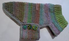Cozy crochet sweater in delicious multi colours - knnitted by ...