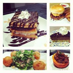 Amazing last day of #vegan eating in Paris at @mob_usa and @Gentle_Gourmet! Best eats of the trip. Deep-fried Vegusto cheese! Burger & fries! Mille-feuille (French dessert)! #paris