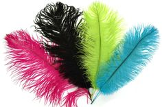 Ostrich Feather Cake Topper   decorations ostrich feathers